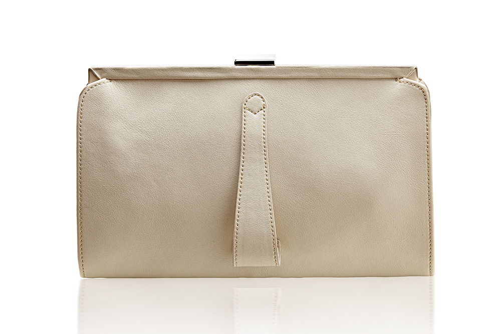 Contessa Purse - Antique White