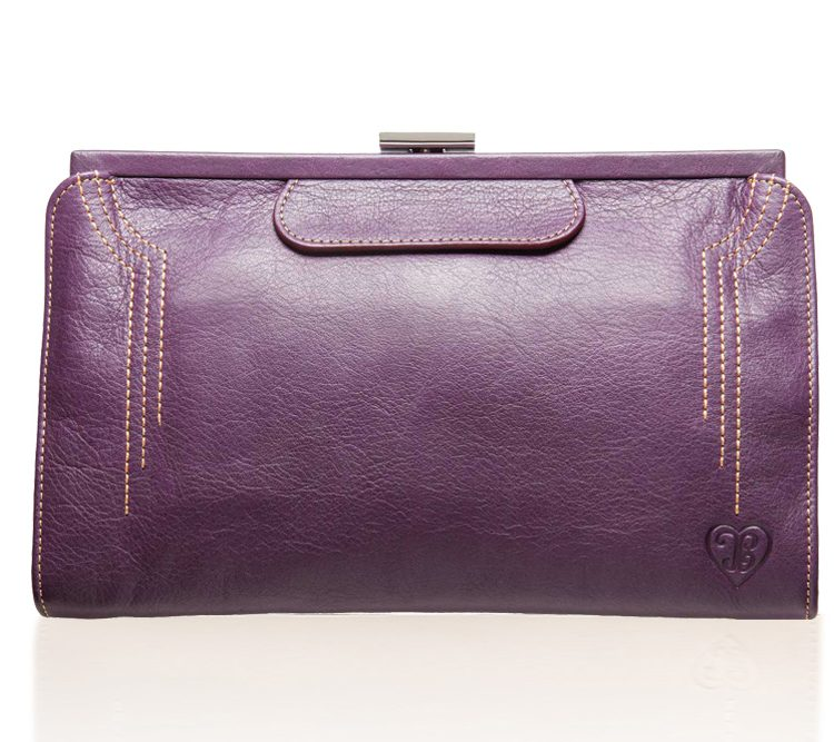 Contessa Purse - Aubergine Purple