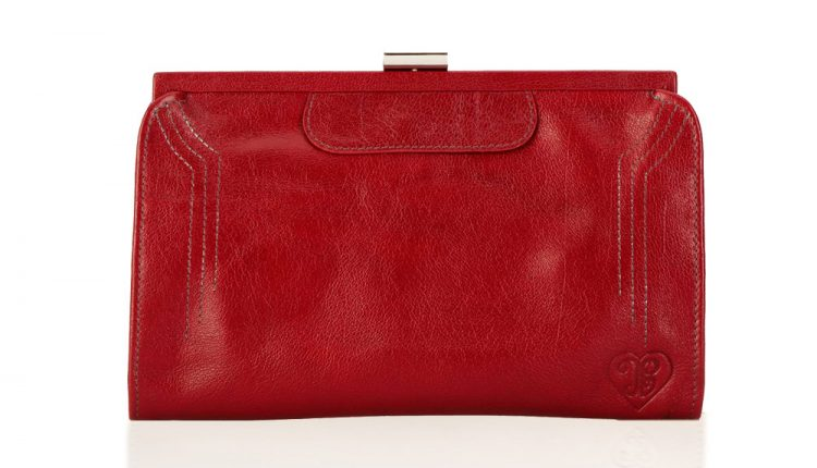 Contessa Purse - Berry Red