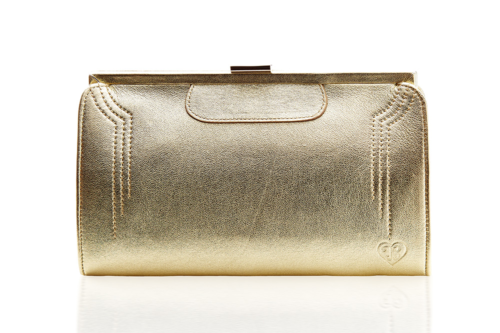 Contessa Purse - Dubai Gold