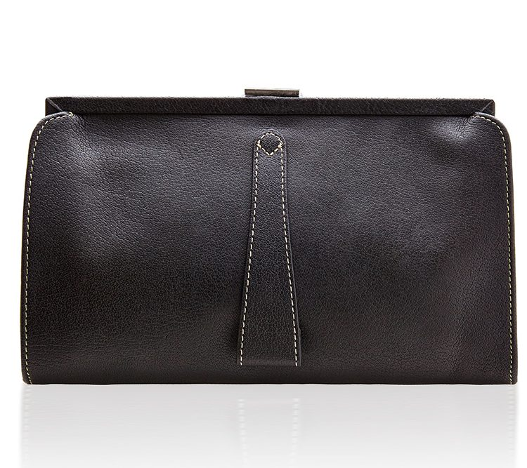 Contessa Purse - Ebony Black